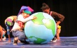 The world in their hands. Prescott Circus Theatre. Photo by Jarrel Phillips/AVE